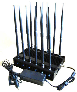 12 BAND MOBILE JAMMER,DCS + GSM + UMTS (3 g) + 800 LTE (4 g) + 2600 LTE (4 g) CELL PHONE RF BUG RADIO JAMMER