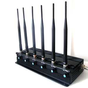 neighbors jamming wifi card - 6 BANDS GSM/3G/4G/WIFI/RADIO/REMOTE/VHF/UHF JAMMER