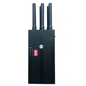 6 Bands 4G LTE Cell Phone Signal Jammer,built in big battery for 3.5 hours contiune working, Blocking GSM 3G 4G WIFI signals all in one