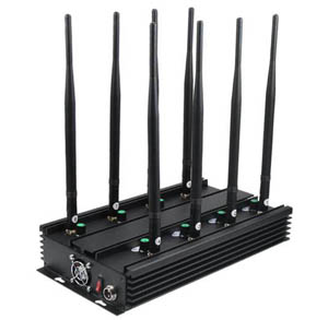 call block phone - 8 Antenna GSM DCS 3G JAMMER EUROPE 4G-LTE JAMMER WIFI GPS-L1 JAMMER VHF UHF Jammer - 4G JAMMER - BLOCKS ALL 3G 4G GSM GPS LOJACK SIGNAL - SPECIAL FOR USA