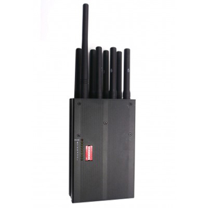 jammerjab kirby high end - 8 band cell phone signal jammer | Blocks 3G,4G LTE,GPS L1,Lojack all in one,Suppress Cell Phone Data and GPS & Lojack Tracker