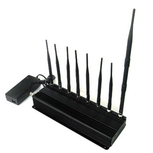 special jammers c 45 - 8 ANTENNA HIGH POWER JAMMER - 8 BANDS CELLPHONE JAMMER - 4G LTE WINMAX MOBILE PHONE SIGNAL JAMMER